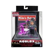 Игрушка Roblox - фигурка героя Welcome to Bloxburg: Mechanic Mayhem (DS) с аксессуарами