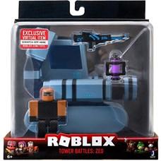 Игрушка Roblox - фигурка героя с транспортным средством Tower Battles: ZED с аксессуарами