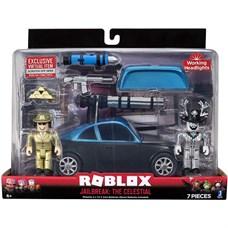 Игрушка Roblox - фигурка героя с транспортным средством Jailbreak: The Celestial с аксессуарами