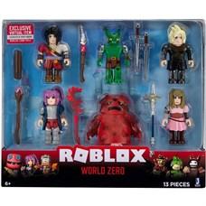Игрушка Roblox - фигурки героев World Zero 6 шт с аксессуарами