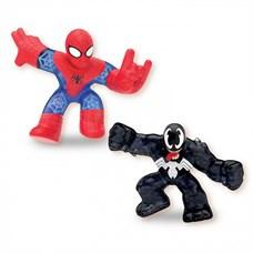 Гуджитсу Игр.набор тянущихся фигурок Человек-Паук и Веном.ТМ GooJitZu