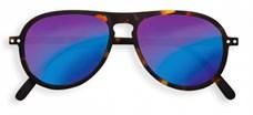 IZIPIZI Очки #I Солнцезащит. Черепаховые зеркальные/Tortoise Mirror +0