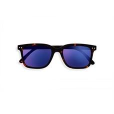 IZIPIZI #L Солнцезащитные очки Черепаховые зеркальные/ Tortoise Mirror +0