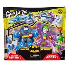 Гуджитсу Игр набор тянущихся фигурок Бэтмен и Джокер ТМ GooJitZu