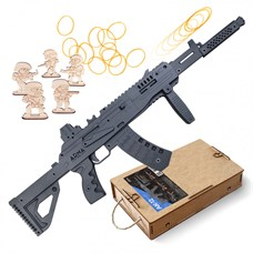 ARMA.toys Резинкострел АК-12 с передней рукоятью и макетом коллиматорного прицела