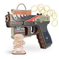 ARMA.toys Резинкострел пистолет Глок, скин Ястреб
