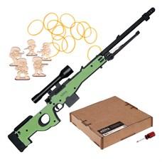 ARMA.toys Деревянная модель винтовки AWP в сборе, резинкострел
