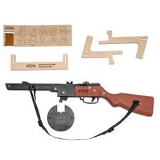 ARMA.toys Резинкострел «ППШ» (окрашенный)