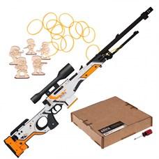 ARMA.toys Деревянная винтовка-резинкострел AWP «Азимов» из CS GO