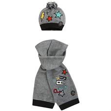 "TUC TUC Комплект вязаный  шапка + шарф ""PLAY"""