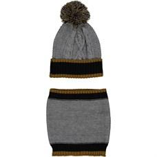 BIRBA шапка + шарф комплект