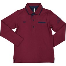 Trybeyond лонгслив POLO SHIRT INTERLOCK