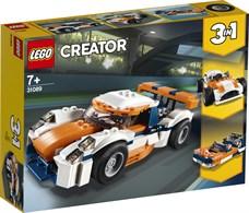 Игрушка Криэйтор Оранжевый гоночный автомобиль