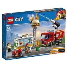 Игрушка Город Пожарные: Пожар в бургер-кафе
