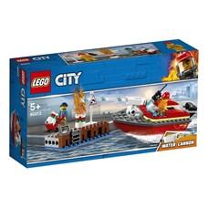 Игрушка Город Пожарные: Пожар в порту