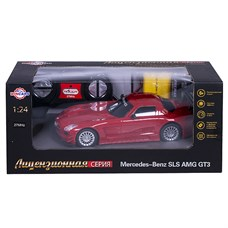 Wincars Mercedes Benz SLS AMG GT3 (лицензия), Р/У, масштаб 1:24, ЗУ в комплекте