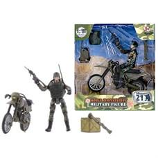 """Игровой набор """"WP. Мотоциклетные войска"""" 1:18, 1 фигурка"""