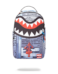 SprayGround Рюкзак SPIDERMAN UPSIDE DOWN SHARK BACKPACK