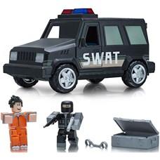 Игрушка Roblox - машина с фигурками Jailbreak: SWAT Unit