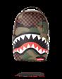 Sprayground Рюкзак CHECKERED CAMO SHARK BACKPACK - фото 10884